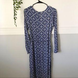 Lulu's Dresses - Lulus Mandala Daydream Blue Maxi Dress